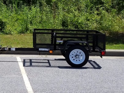 The trailer before its modifications…