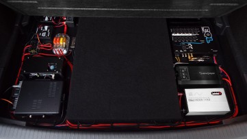 An overview of the trunk setup...