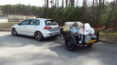 My GTI's first load: A run to the city dump! 🙂