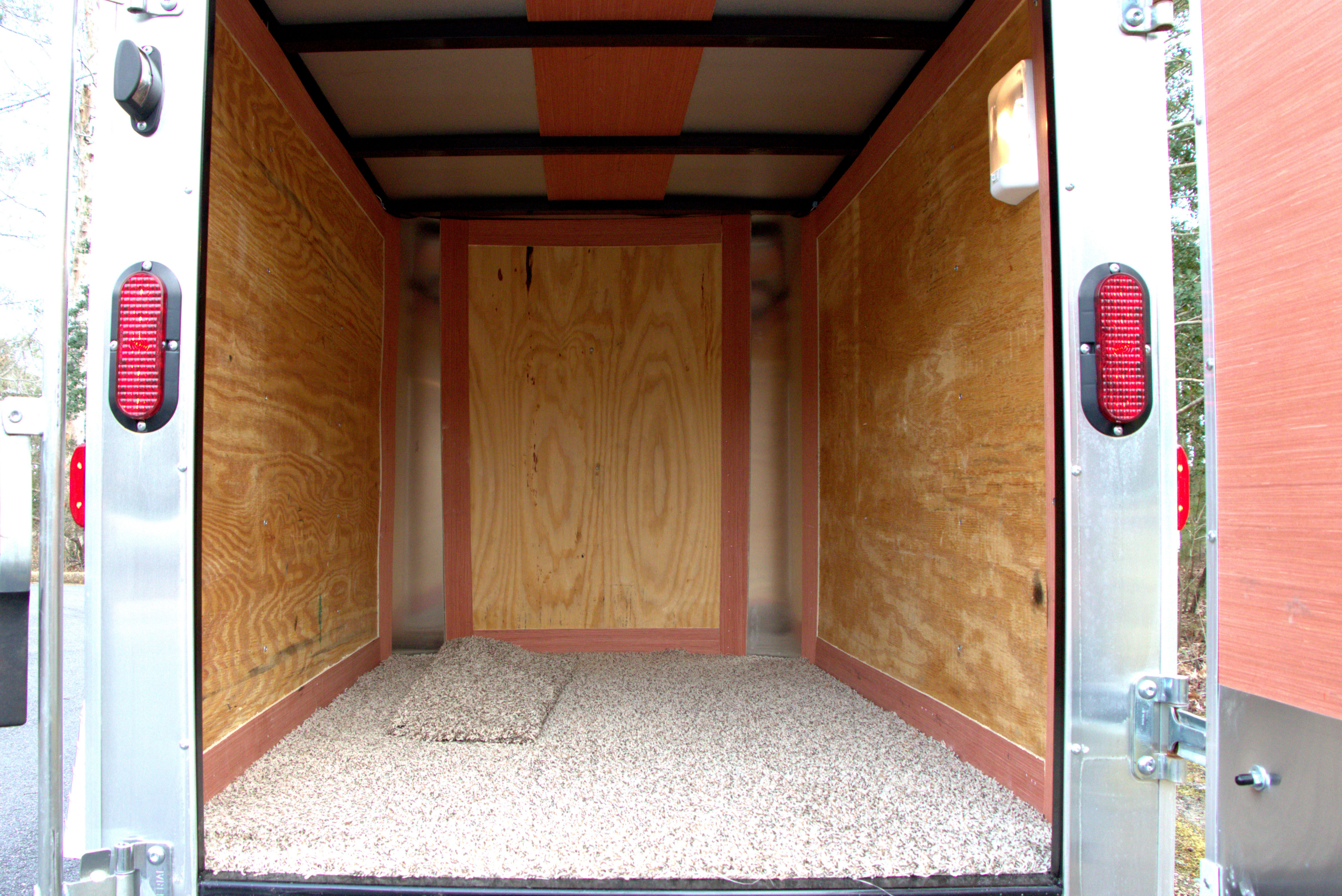 enclosed trailer flooring ideas. I Haven\u0027t Decided Whether Will Soften The Ride Like Had On Baby Trailer. It Weighs 600 Lbs Empty, So Double-eye Leaf Springs Are Already Enclosed Trailer Flooring Ideas T