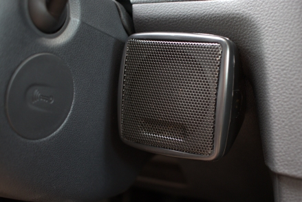I attached the speaker to the dash with Household GOOP.