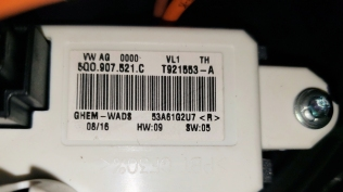 The part number for the resistor/regulator, should one need to be ordered separately...